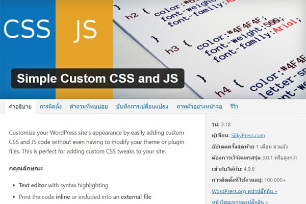 simple-custom-css-js