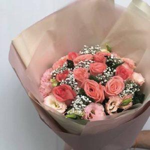 ช่อดอกกุหลาบ-สีส้ม-02