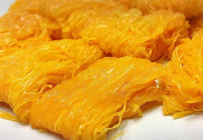 ขนมไทย - ฝอยทอง